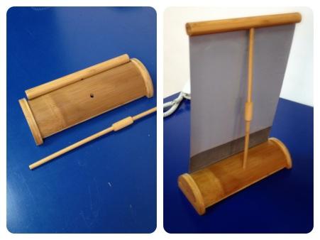 Práctico y elegante estuche de Bambú