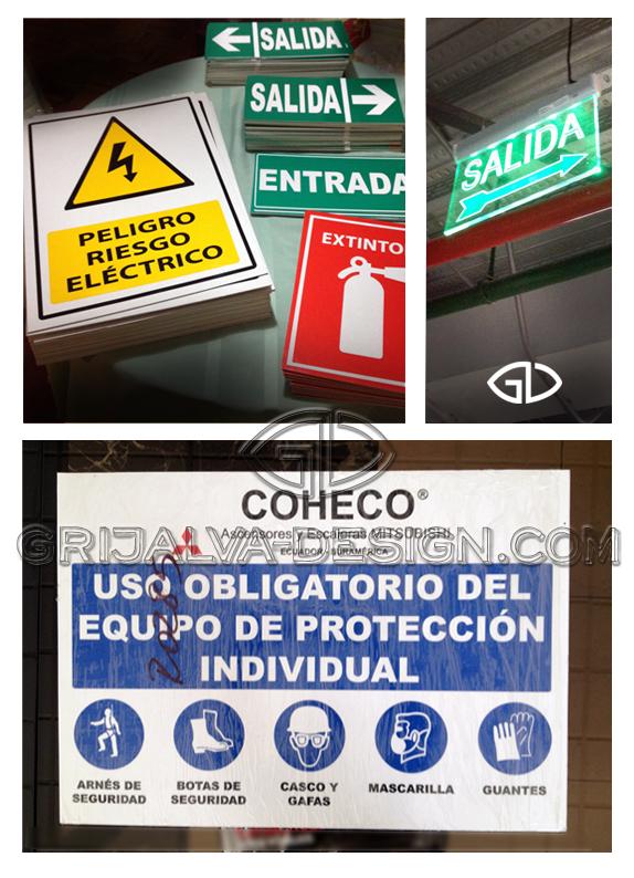señaletica seguridad Grijalva-design.com